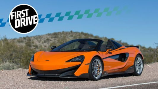 The 2019 McLaren 600LT Spider Is a Ruthless, Roofless Wonder