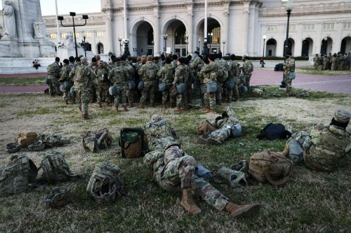 Several governors order National Guard troops out of D.C