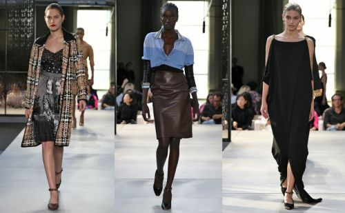 Burberry's new star shows off debut collection in London