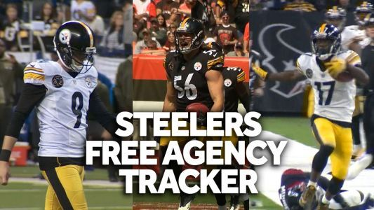 Steelers free agency tracker: Who's staying in Pittsburgh and who's leaving? Follow today's signings here: