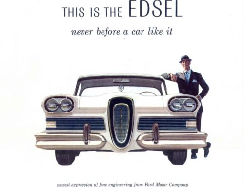 Some people think Ford's short-lived Edsel brand of the late 1950s died off because the cars were ug