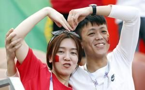 More than ever, and without a team, it is China's World Cup