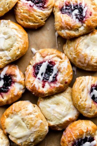 Breakfast Pastries with Shortcut Homemade Dough