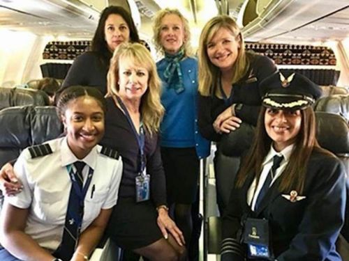 These black female pilots made history when they flew a plane together - and people are feeling inspired