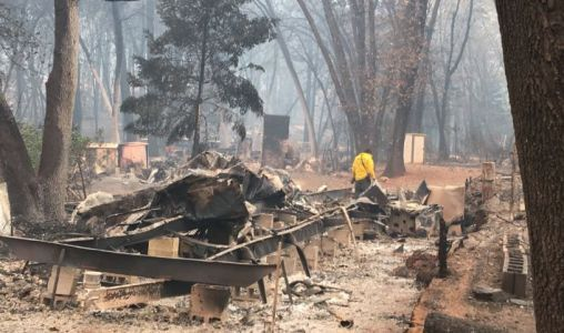 5 more found dead; Camp Fire death toll rises to 76