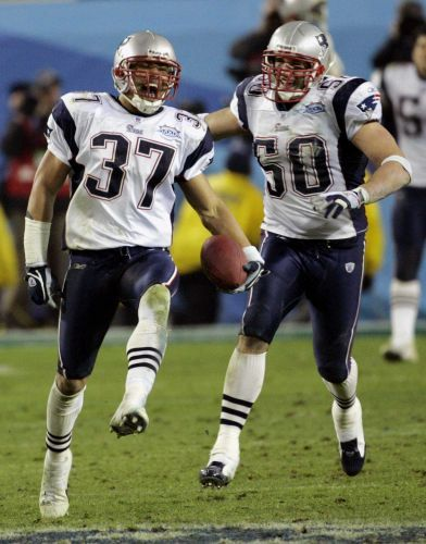 Two-time Super Bowl champion voted into Patriots Hall of Fame
