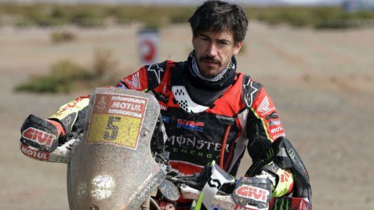 I Will Never Be As Tough As The Dakar Rider Who Won A Stage With A Busted Knee