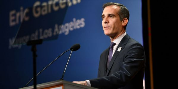 FULL INTERVIEW: Los Angeles Mayor Eric Garcetti says the worst is yet to come, and warns other mayors to shut their cities down now before it's too late