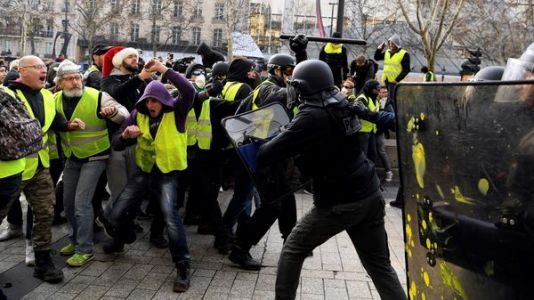 After More 'Yellow Vest' Protests, France's President Macron To Address Nation