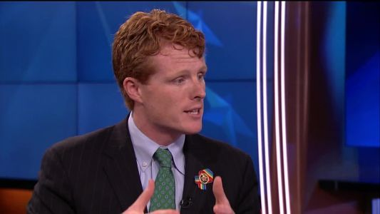 Massachusetts Rep. Joe Kennedy joins immigration protest in Texas