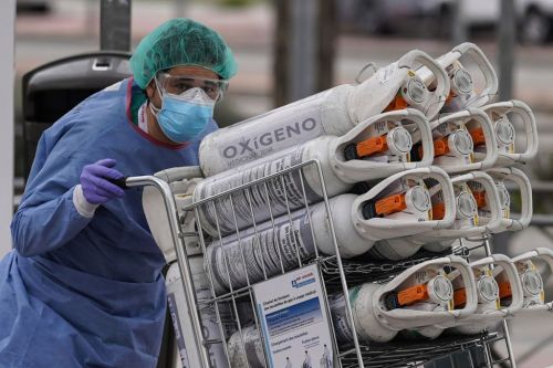 Hospitals are running low on the most critical supply of all: Oxygen