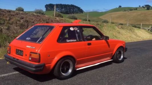Every Toyota Starlet Should Have A Motorcycle Engine