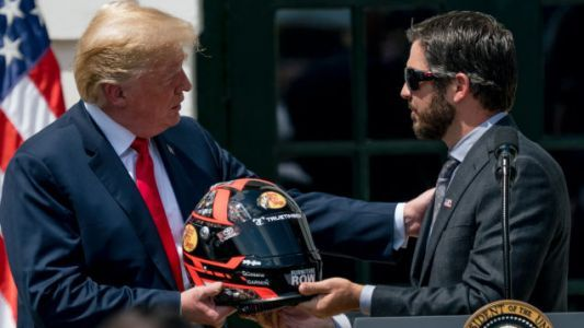 Trump Wants To Drive A Race Car And That Must Happen