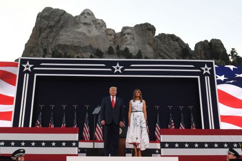 The White House reportedly asked South Dakota's governor how to add another president to Mount Rushmore, and she later gave Trump a 4-foot replica with his face on it