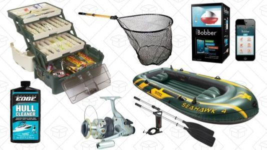 Reel In Discounts on Fishing and Boat Equipment In This Gold Box