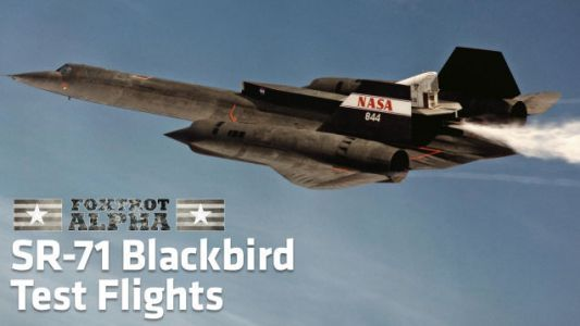 Here's Some Rare Footage Of The SR-71 Blackbird Testing