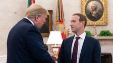 Mark Zuckerberg Meets With Trump At The White House
