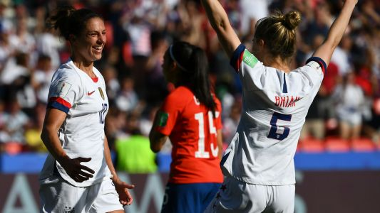 Women's World Cup 2019: U.S. 'A' team's day off against Chile should pay off down the road