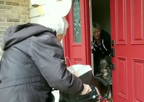 'Baba bunny is on a roll': 91-year-old woman goes trick-or-treating for first time