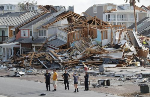 Crews are searching Hurricane Michael's ruins for at least 30 people who are still nowhere to be found