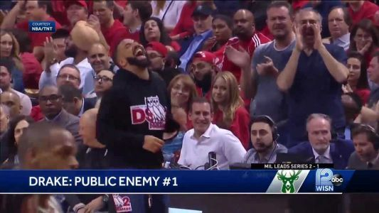Drake's courtside antics clearly violate NBA fan rules