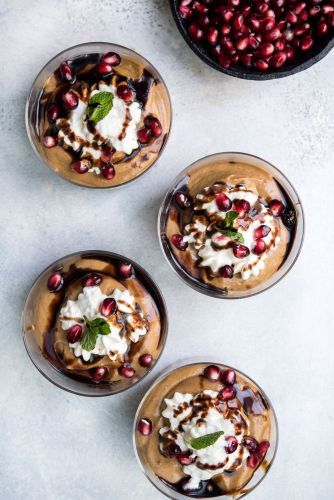 Sweet Tahini Mousse