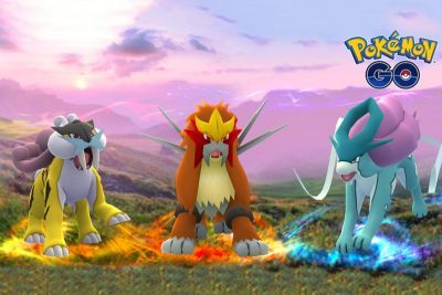 The Three Legendary Dogs Are Coming to 'Pokémon GO'