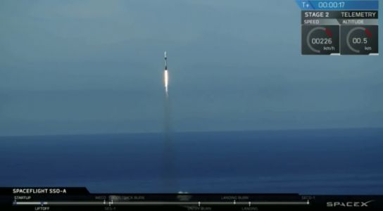 SpaceX Broke Four Records During Today's Falcon 9 Rocket Launch