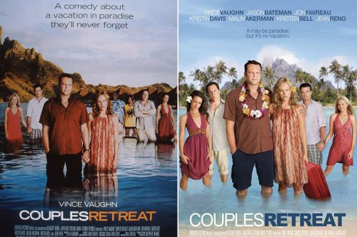 Universal sued for cutting black couple from 'Couples Retreat' publicity posters