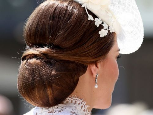 Kate Middleton wore a hairnet to keep her updo in place - and it's a hack you need to try