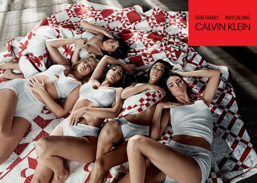 The Kardashians Are The Latest To Star In Calvin Klein's MyCalvins Campaign