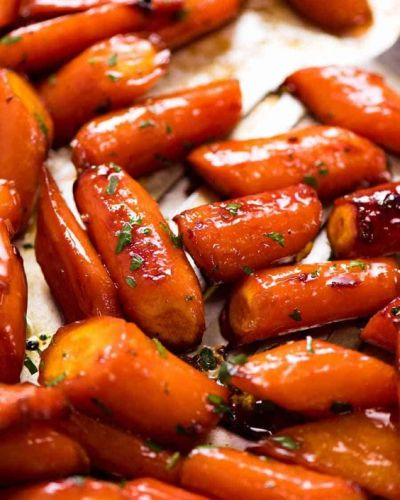 Maple Glazed Carrots ****~~~**** Glasierte Karotten mit Ahornsirup