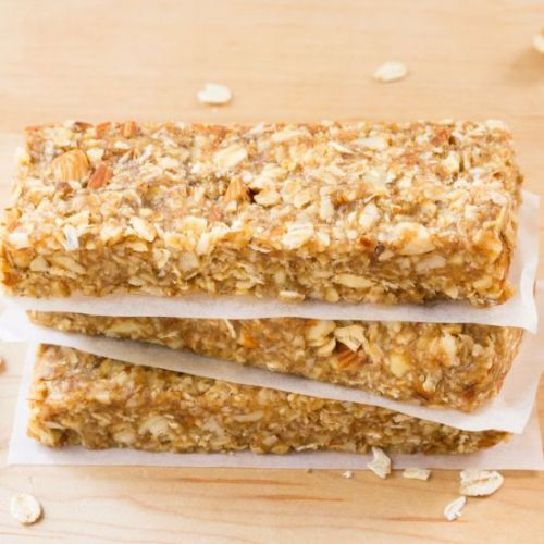 Granola Bars With Date Caramel