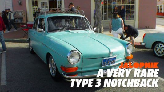 Take a Look With Me at a Very Rare Volkswagen Type 3 Notchback