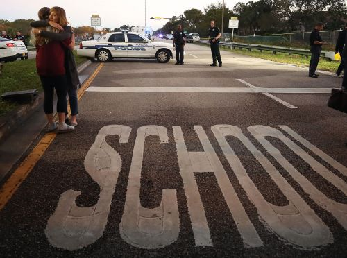 Teen survivors push Trump to address gun violence following Parkland school shooting
