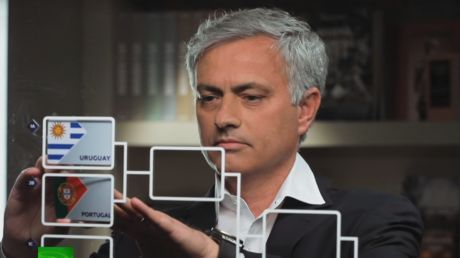 Patriotic predicament as Mourinho backs Spain over Portugal in RT's World Cup predictor
