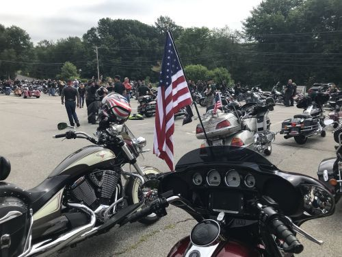 Motorcycle ride held to honor fallen Marine from Londonderry