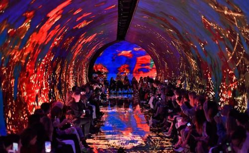 Balenciaga's Paris show emerges from tunnel of trauma