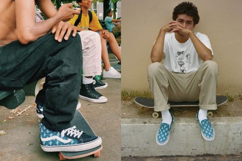 Supreme & Vans Announce New Distressed Denim Pack