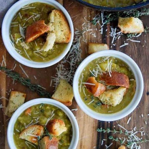 Easy Split Pea Soup Recipe