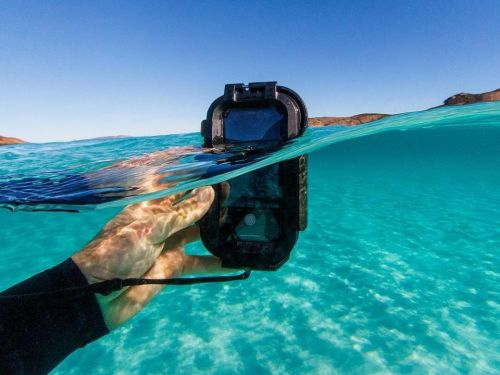 This waterproof iPhone case isn't cheap at $200, but it turns my phone into a professional-grade underwater camera