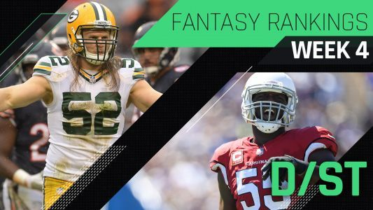 Week 4 Fantasy Football Rankings: Defense