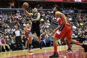 Walker leads Hornets past Wizards, 116-110