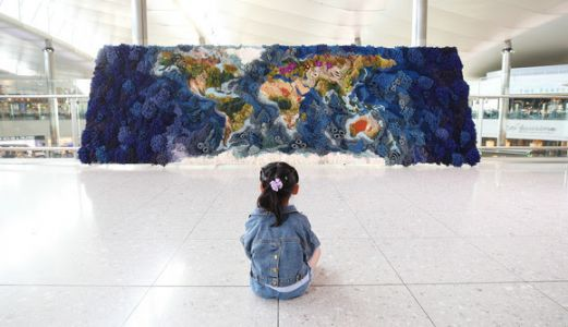 Weaving the world: Heathrow unveils Botanical Tapestry