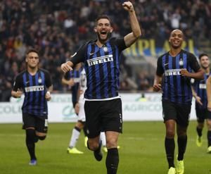 Inter beats Genoa 5-0 for 7th straight Serie A victory