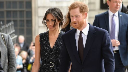 Meghan Markle Wore a Thing: Hugo Boss Dress Edition