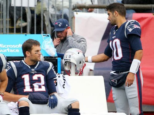Jimmy Garoppolo made an appointment with Brady's controversial trainer - and then discovered he was locked out of the facilities