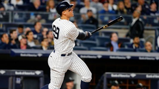 Yankees' Aaron Judge ties Mark McGwire's rookie HR record