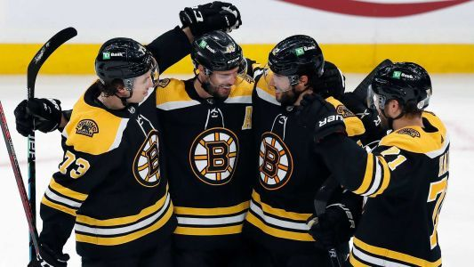 Here's the Bruins' schedule for first round of NHL playoffs