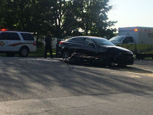 Police investigate fatal crash involving motorcycle, vehicle on Bunsen Way